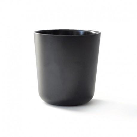 Large Cup Ø9,5Cm - Gusto Black - Biobu BIOBU EKB8903