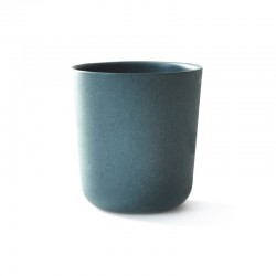 Large Cup Ø9,5Cm - Gusto Blue Abyss - Ekobo