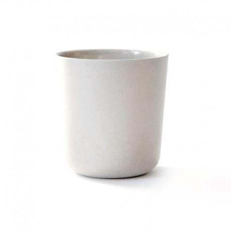 Large Cup Ø9,5Cm - Gusto White - Biobu BIOBU EKB8965
