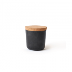 Small Storage Jar - Gusto Black - Ekobo
