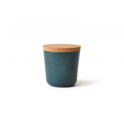 Small Storage Jar - Gusto Blue Abyss - Ekobo BIOBU EKB8989