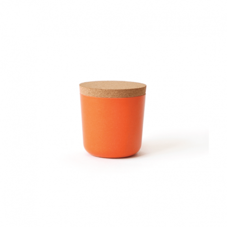 Small Storage Jar - Gusto Persimmon - Ekobo | Small Storage Jar - Gusto Persimmon - Ekobo