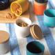 Small Storage Jar - Gusto Permission Persimmon - Biobu BIOBU EKB9016