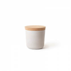 Small Storage Jar - Gusto Stone - Ekobo