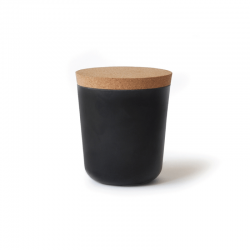 Large Storage Jar - Gusto Black - Ekobo