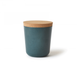 Large Storage Jar - Gusto Blue Abyss - Ekobo