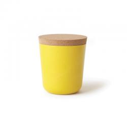 Frasco Grande Com Tampa - Gusto Amarelo (limão) - Biobu