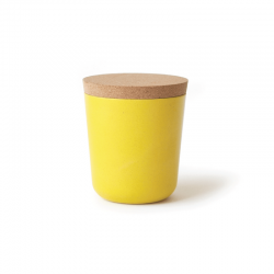 Large Storage Jar - Gusto Lemon - Ekobo