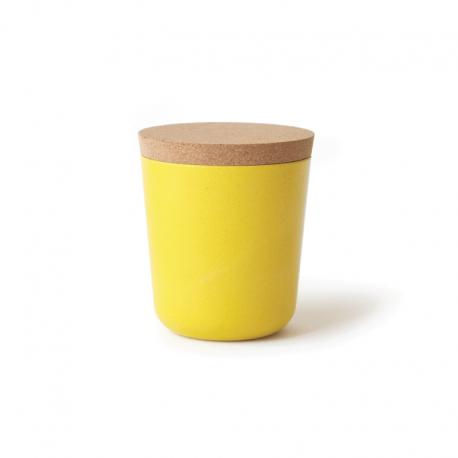 Frasco Grande Com Tampa - Gusto Amarelo (limão) - Biobu BIOBU EKB9078