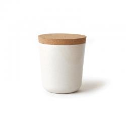 Large Storage Jar - Gusto White - Biobu