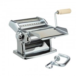 Manual Pasta Machine (2Cutters) 150mm - Ipasta Special Edition Silver - Imperia IMPERIA IMP110