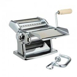Manual Pasta Machine (2Cutters) - Ipasta Special Edition Silver - Imperia IMPERIA IMP110