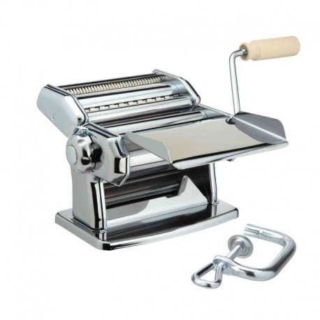 Máquina Pasta Manual (2 Cortadores) 150mm - Ipasta Edición Limitada Plata - Imperia IMPERIA IMP110