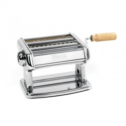 Manual Pasta Machine (2Cutters) 150mm - Titania Silver - Imperia