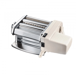 Pasta Machine With Electric Engine 150mm - Titania Silver - Imperia