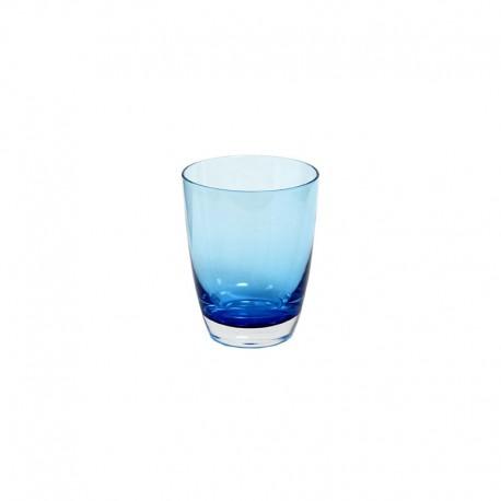 Set of 6 Tumbler Glasses Blue - Tiburón - Italesse ITALESSE ITL3342BL