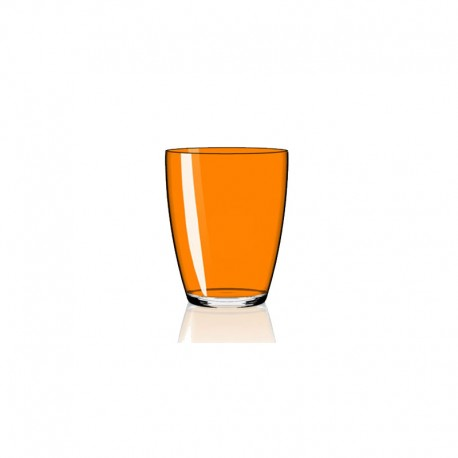 Set of 6 Tumbler Glasses Orange - Tiburon - Italesse ITALESSE ITL3342OG