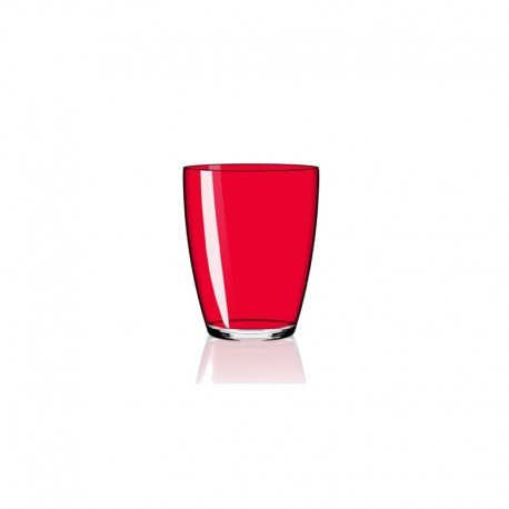 Set of 6 Tumbler Glasses Red - Tiburon - Italesse ITALESSE ITL3342RR