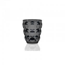 Copa Tumbler - Bolle Negro Transparente - Italesse
