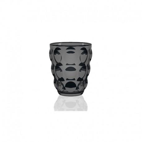 Set of 6 Black Tumbler Glasses - Bolle - Italesse ITALESSE ITL3350BC