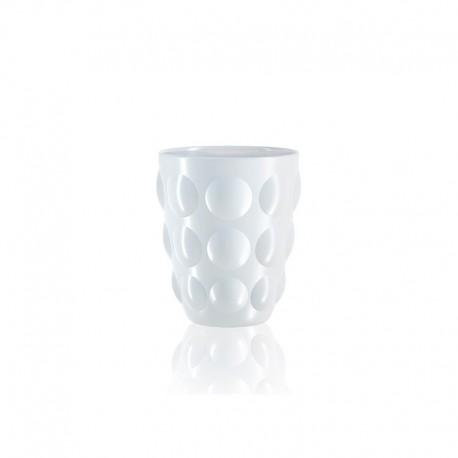 Set of 6 Tumbler Glasses White - Bolle - Italesse ITALESSE ITL3350BI