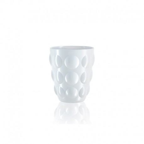 Tumbler Glass - Bolle White - Italesse ITALESSE ITL3350BI