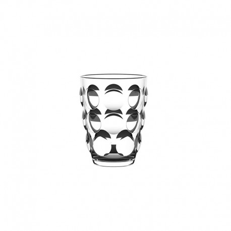 Set of 6 Tumbler Glasses Clear - Bolle - Italesse ITALESSE ITL3350TR