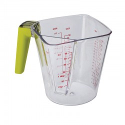 2-In-1 Measuring Jug Transparent - Joseph Joseph