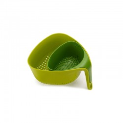 Colador Doble Cesta Verde - Nest - Joseph Joseph