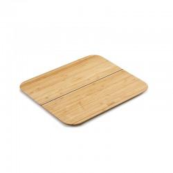 Tábua de Corte Dobrável Grande - Chop2Pot Bamboo Madeira - Joseph Joseph