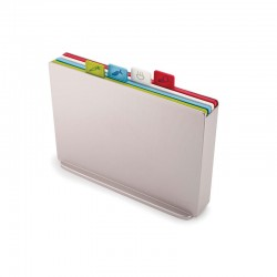 Chopping Board Set - Index Grande Silver - Joseph Joseph