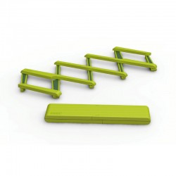 Expandable Silicone Pot Stand - Stretch Green - Joseph Joseph