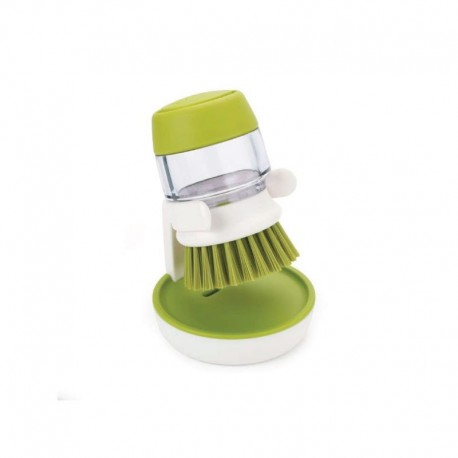 Cepillo Dispensador - Palm Scrub Blanco Y Verde - Joseph Joseph JOSEPH JOSEPH JJ85004