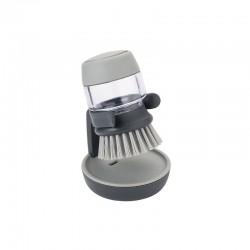 Escova Com Distribuidor - Palm Scrub Cinza - Joseph Joseph JOSEPH JOSEPH JJ85005
