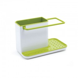 Sink Tiddy - Caddy Small White And Green - Joseph Joseph