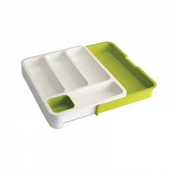 Expandable Cutlery Tray - Drawerstore Green - Joseph Joseph JOSEPH JOSEPH JJ85041