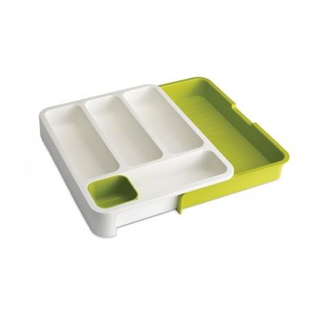Expandable Cutlery Tray - Drawerstore Green - Joseph Joseph   Expandable Cutlery Tray - Drawerstore Green - Joseph Joseph