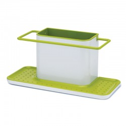 Sink Tiddy - Caddy Xl White And Green - Joseph Joseph