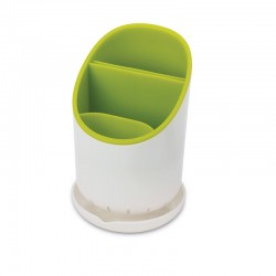 Cutlery Drainer And Organizer - Dock White And Green - Joseph Joseph JOSEPH JOSEPH JJ85074