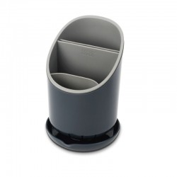 Cutlery Drainer And Organizer - Dock Grey - Joseph Joseph