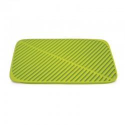 Folding Draining Mat - Flume Green - Joseph Joseph