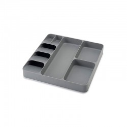 Cutlery, Utensil and Gadget Organiser Grey - DrawerStore - Joseph Joseph | Cutlery, Utensil and Gadget Organiser Grey - Drawe...