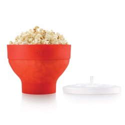 Popcorn Maker Red - Lekue