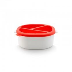 Fondue De Chocolate Micro-Ondas Vermelho E Branco - Lekue LEKUE LK0200265R10M017