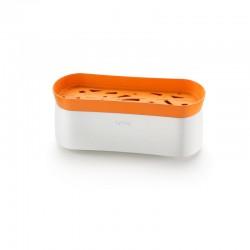 Pasta Cooker Naranja Y Blanco - Lekue