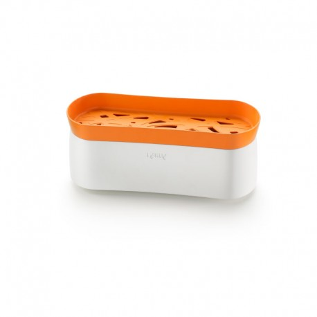 Pasta Cooker Naranja Y Blanco - Lekue |Pasta Cooker Naranja Y Blanco - Lekue