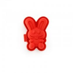 Molde Mini Conejitos (2Un) Rojo - Lekue