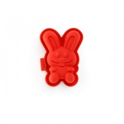 Rabbit-Shaped Mould (2Un) Red - Lekue