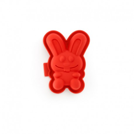 Rabbit-Shaped Mould (2Un) Red - Lekue LEKUE LK0210102R01M017