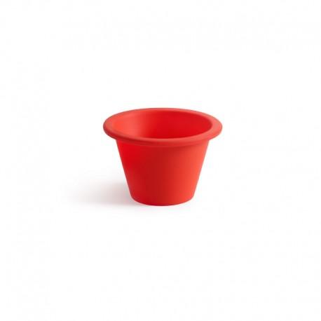Forma Para Pudim Individual (6Un) Vermelho - Lekue LEKUE LK0212060R01M033